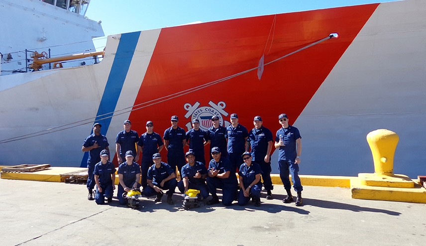 OCTOBER 13, 2015 - USCG Units Complete Training on VideoRay Pro 4 Remotely Operated Vehicles (VIDEO)